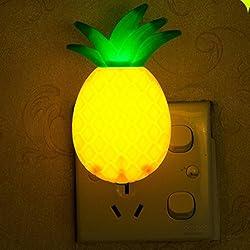Nightlight,YJYdada LED Night Lamp Switch Pineapple Fruit Cartoon Series Night Lamp Light