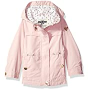 OshKosh B'Gosh Osh Kosh Baby Girls Lightweight Anorak Jacket, Fall Blush, 24M