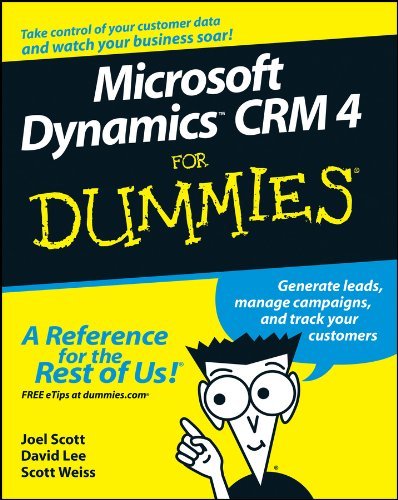 Download Microsoft DynamicsTM CRM 4 For Dummies® Pdf