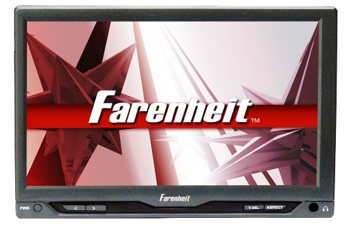 "Farenheit T-7012IRA 7"" LCD Headrest Monitor with Dual Channel IR Transmitter by Xcdiscount"