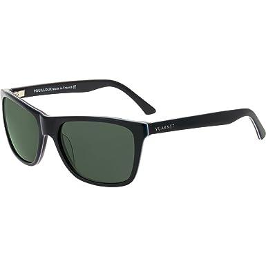 Amazon.com: Vuarnet anteojos de sol VL 1301, negro, talla ...