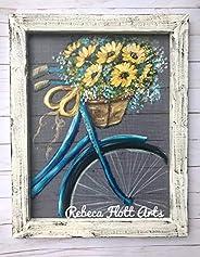 Blue Vintage Bike