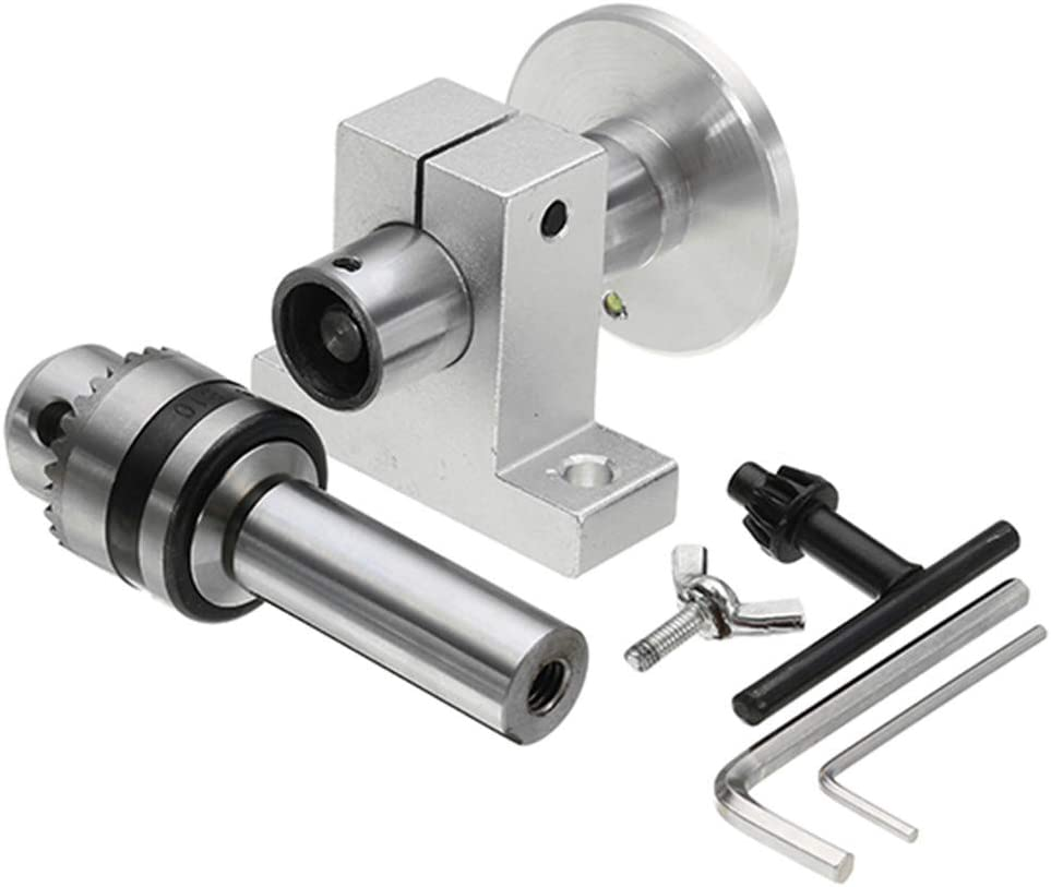 Lathe Center With Chuck DIY Accessories For Mini Lathe Woodworking Tool