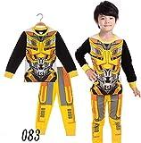 Boys Pajamas Sets Transformers Children Christmas Pants 100% Cotton Spider-Man Long Kids Snug Fit Pjs Winter Toddler Sleepwear (083, 4T)