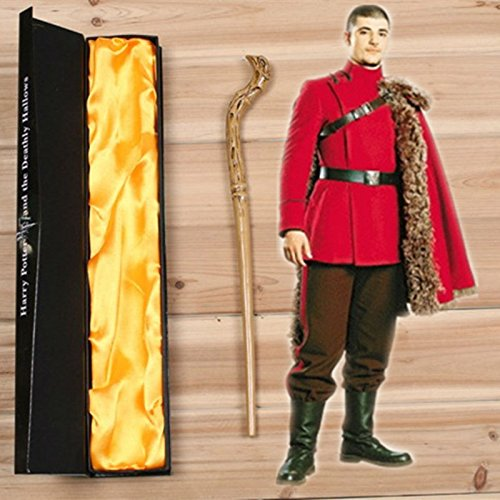Magic trick Trucos de Magia Funy Krum magic wand Harry p. otter Cosplay Halloween toys, gifts, (Harry Potter Quidditch Costume Kit)
