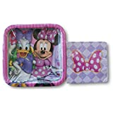 Minnie Mouse Boutique Party Supply Kit - Napkins and Plates