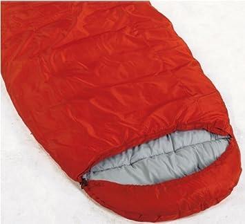 Pro Action rojo 300GSM saco de dormir tipo momia tamaño Extra grande: Amazon.es: Deportes y aire libre