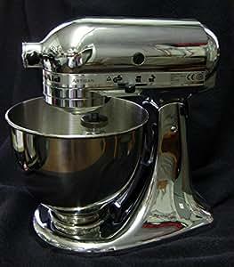 KitchenAid 5KSM150PSECR Artisan Mixer POLISHED CHROME 220 VOLTS Not For USA (For Europe/Africa/Asia)