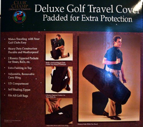 Deluxe Golf Travel Cover by Club Champ