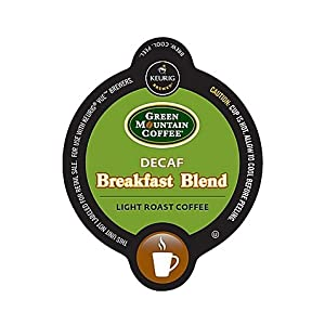 Vue 16-Count Green Mountain Coffee Decaf Breakfast Blend Coffee for Keurig Brewers