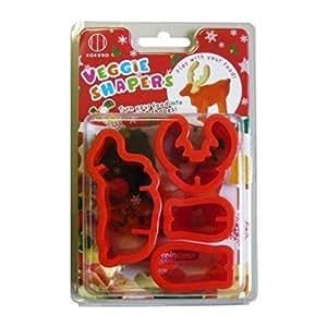 Japanese Veggie Shapers - Reindeer Shape Vegetable Cutter Mold