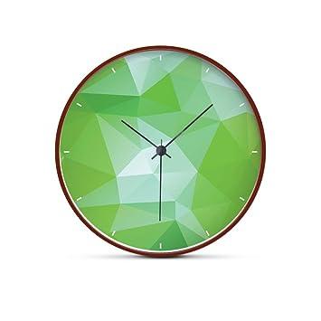 WALL DECORS Relojes de Pared Silencioso Modern Originales Cocina Decorativas 8 Pulgadas: Amazon.es: Hogar