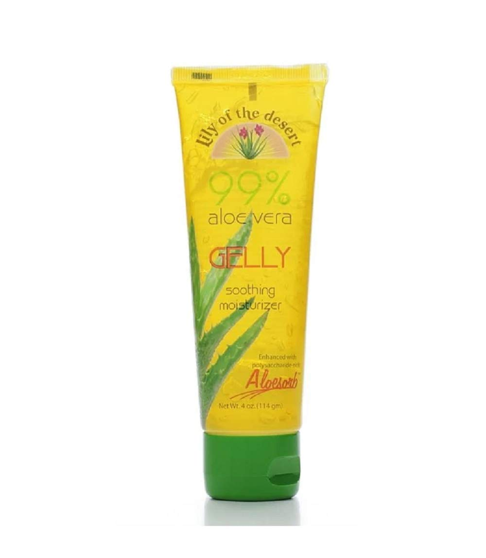 Lily of the Desert Aloe Vera Gelly, 4 Ounces (2 Pack) by Lily Of The Desert