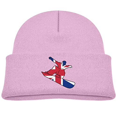 Pants Snowboard Union (RCHat-970 British Flag Snowboard Baby Infant Toddler Winter Warm Beanies Hat Cute Kids Thick Stretchy Cap)