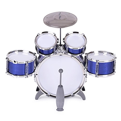Toy Drum Musical Instruments : Ammoon children kids drum set musical instrument toy