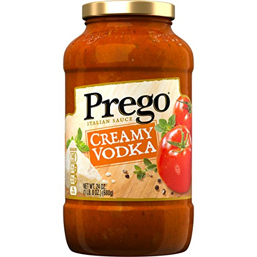 Prego Italian Pasta Sauce, Creamy Vodka, 24 Ounce (Packaging May (Parmesan Pasta Sauce)