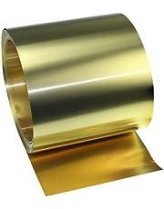 Yili ottone lamiera sottile cintura roll foil, 0.05*100*1000MM, Yellow