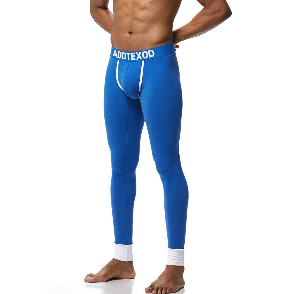 men's cotton long johns tight legging warm pants man fashion