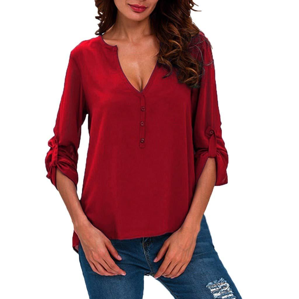 Amazon.com: Xinantime - Camiseta de manga larga para mujer ...