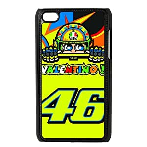 Valentino Rossi theme pattern design For Ipod Touch 4 Phone Case