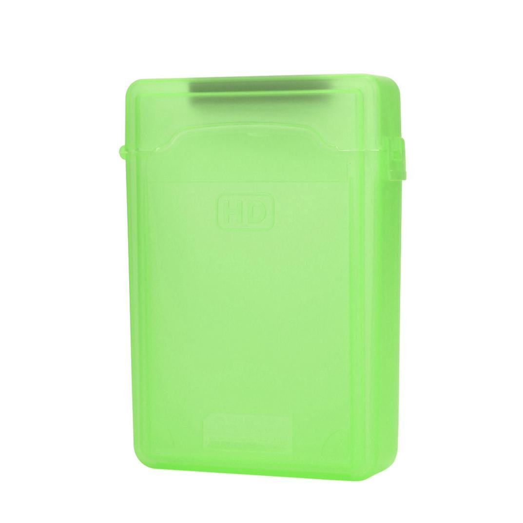 Creazy ool-Free USB 3.0 SATA III Hard Disk Enclosures Case Cover For 2.5inch HDD SSD (green)