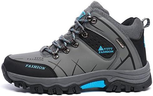 トレッキングシューズ ハイカット 登山靴 メンズ ハイキングシューズ 防水 防滑 ウォーキングシューズ 大きいサイズ アウトドア トラベル スニーカー クッション性/吸汗/通気性