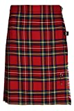 Ladies Short Kilt In Pure New Wool (6, Royal Stewart)