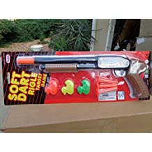 Soft Dart Rifle Pump action Target Practice Game with All Accessories 7 Piece Play-set