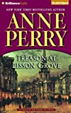 Treason at Lisson Grove by Anne Perry front cover