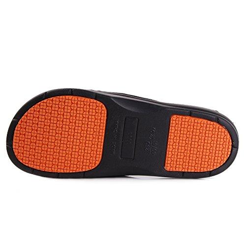 Equick Premium Dames En Heren Badslip Anti-slip Voor Binnenshuis Sandaal 01black