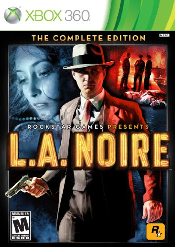 L.A. Noire: The Complete Edition -Xbox 360 (Rockstar 360 Game Collection Xbox)