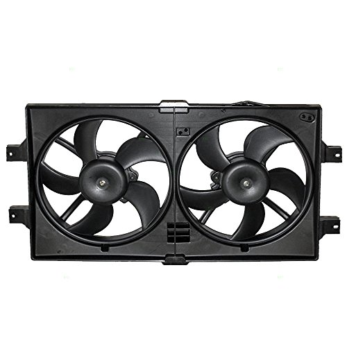 Radiator Cooling Fan Assembly Replacement for Dodge Chrysler 5072180AB ()