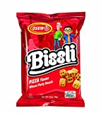 Bissli Pizza Flavored Crunchy Wheat Snack - No Food Coloring or Preservatives, 2.5oz Bag (Pack of 6)