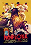 Pamplona, San Fermin - 12x18 Art Poster by Charles Dana Gibson