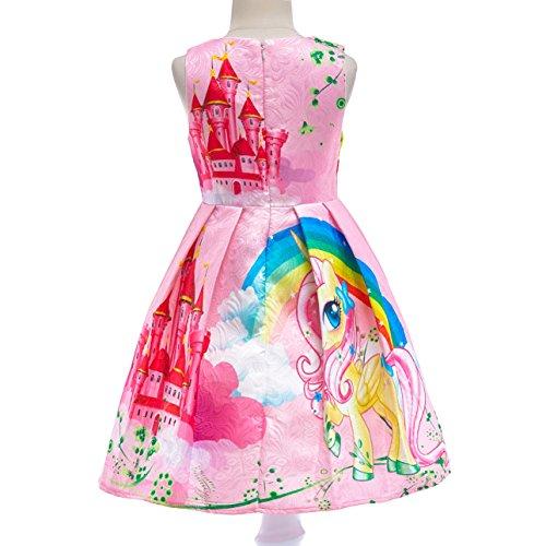 Dressy Daisy Girls My Little Pony Dress Costumes Unicorn Costumes Fancy Dress up Size 6 Pink FC127 by Dressy Daisy (Image #1)