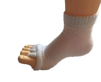 JHKJ Calcetines De Yoga Separador De Cinco Dedos De Los Pies Calcetines Cómodos De Alineación del