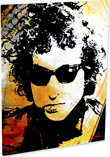 Bob Dylan art prints wall decor painting exceptional artwork by Mark Lewis Art - sofbdm - signed (Bob Dylan Signed)