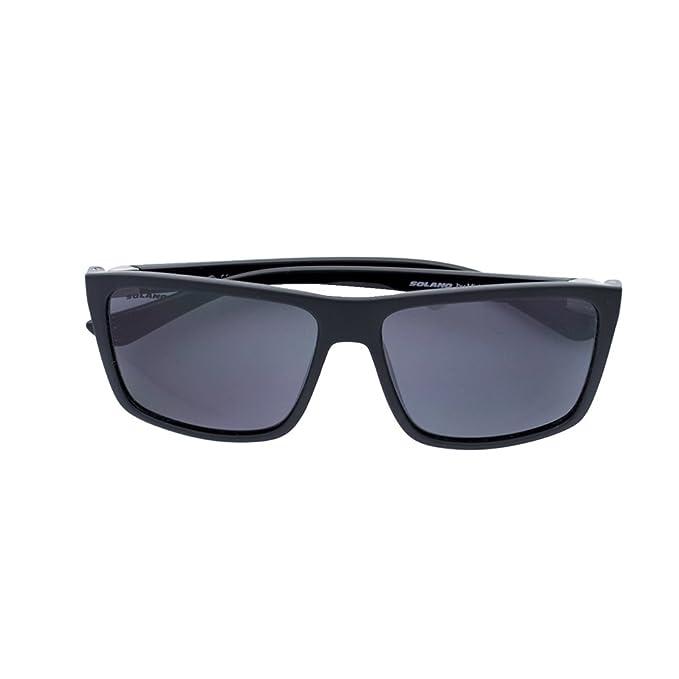 Gafas de sol Solano montura negra: Amazon.es: Ropa y accesorios