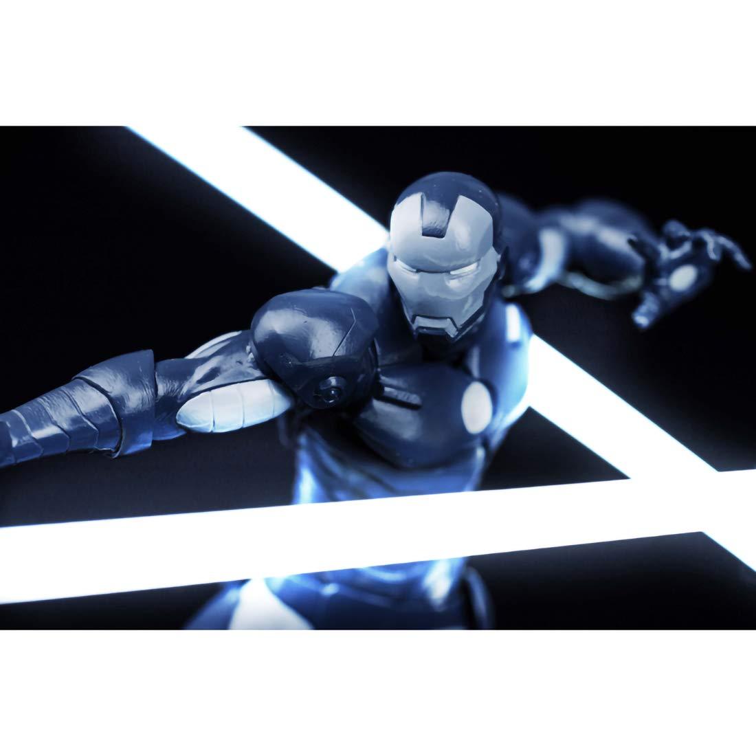1 Official Marvel Trading Card Bundle 38403 Banpresto Iron Man Monotone : ~6.3 Iron Man x Marvel Creator x Creator Statue Figurine BCC9419440