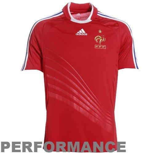 France 08/09 Away SS Soccer Jersey