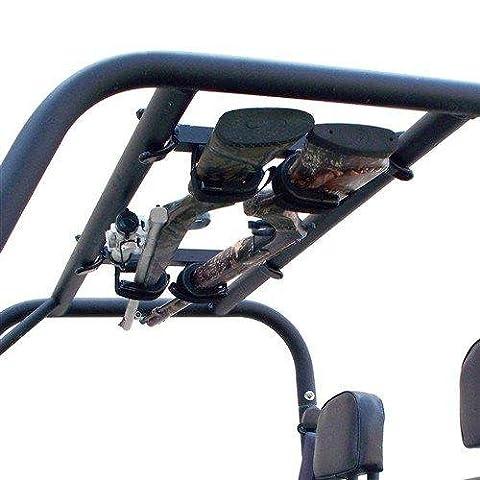 xp 900, 570 Full size, and 900 Crew Ranger- UTV Overhead Gun Rack by Great Day DAYQD8580GR (Utv Crew Roof)