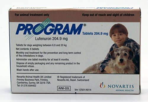 Program Oral Treatment for Small Dogs 14.5 - 44 Lbs. - Program Flea Tablets
