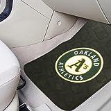 MLB Oakland Athletics Auto Front Floor Mat, 2-Pack