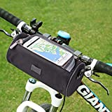 Handlebar Bag, NTMY Waterproof Bicycle Bag with Transparent PVC Pouch and Removable Shoulder Strap