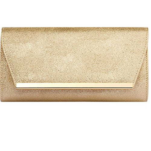 - Womens Evening Clutch Bridal Prom Handbag shoulder bag Wedding Purse Party Bag