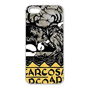iPhone 5 5s Cell Phone Case White CARCOSA Stled