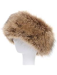 Faux Fur Headband with Stretch Women s Winter Earwarmer Earmuff 29d41f6aaf92