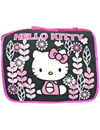 "Hello kitty School Messenger Bag (Size 14"", Black)"