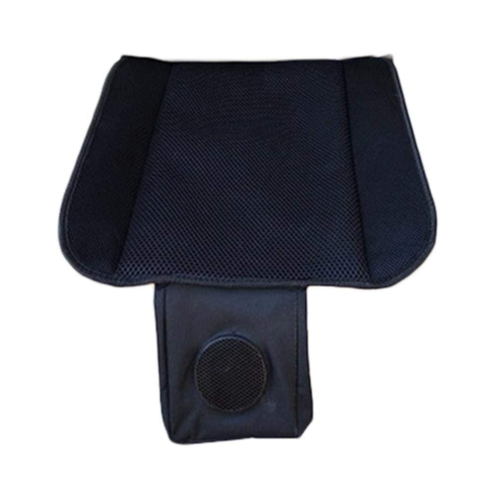 ethic Coj/ín del Coche Coj/ín de enfriamiento USB Sin Respaldo Ventilaci/ón Asiento almohadillado Car Home Dual Seat Compuesto Airy Fabric Mat