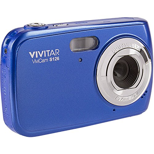 Vivitar ViviCam S126 Digital Camera (Blue) by Vivitar
